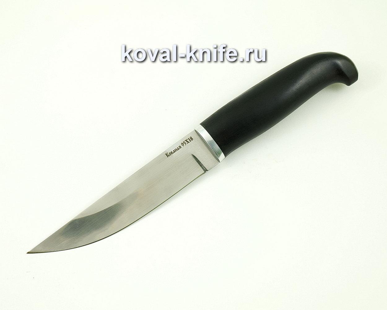 Нож Лис из стали 95х18 (рукоять граб) A410