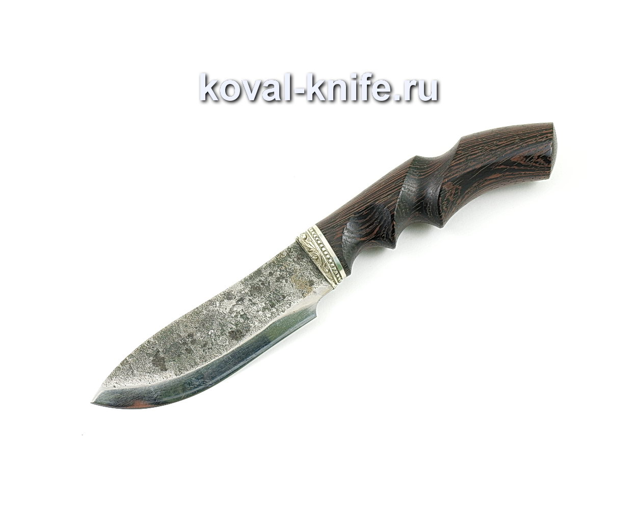Нож Кабан из стали 9хс (анатомическая рукоять венге)