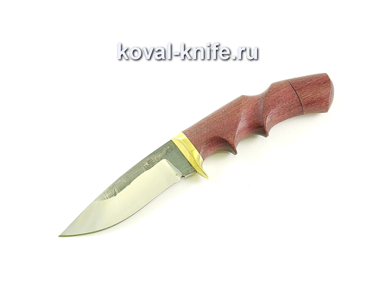 Нож Сапсан (сталь110х18), рукоять амарант, литье A031