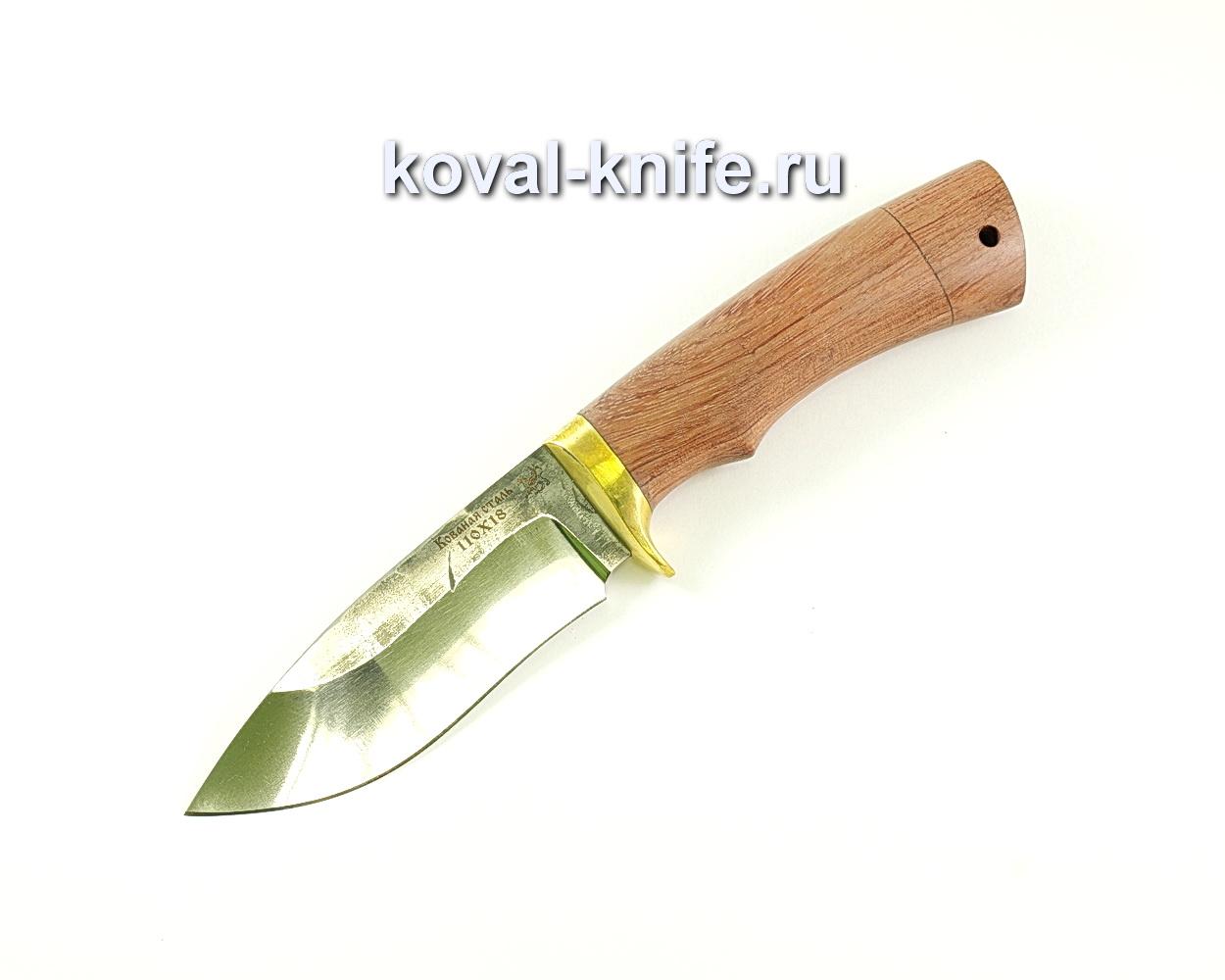 Нож Сапсан (сталь 110х18), рукоять бубинга, литье A033