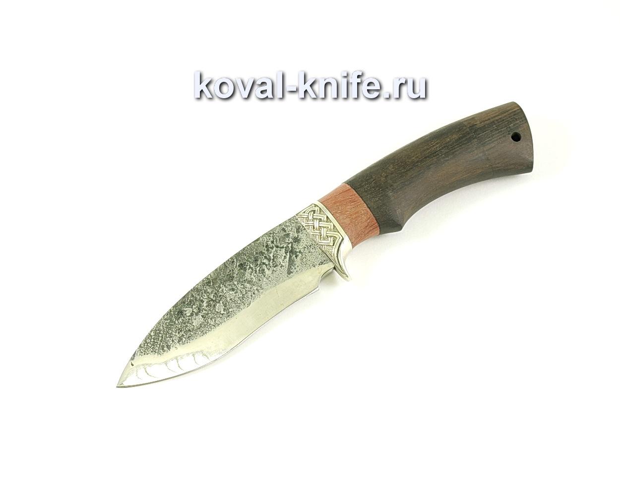 Нож Сапсан (сталь 9хс), рукоять бубинга, венге A070
