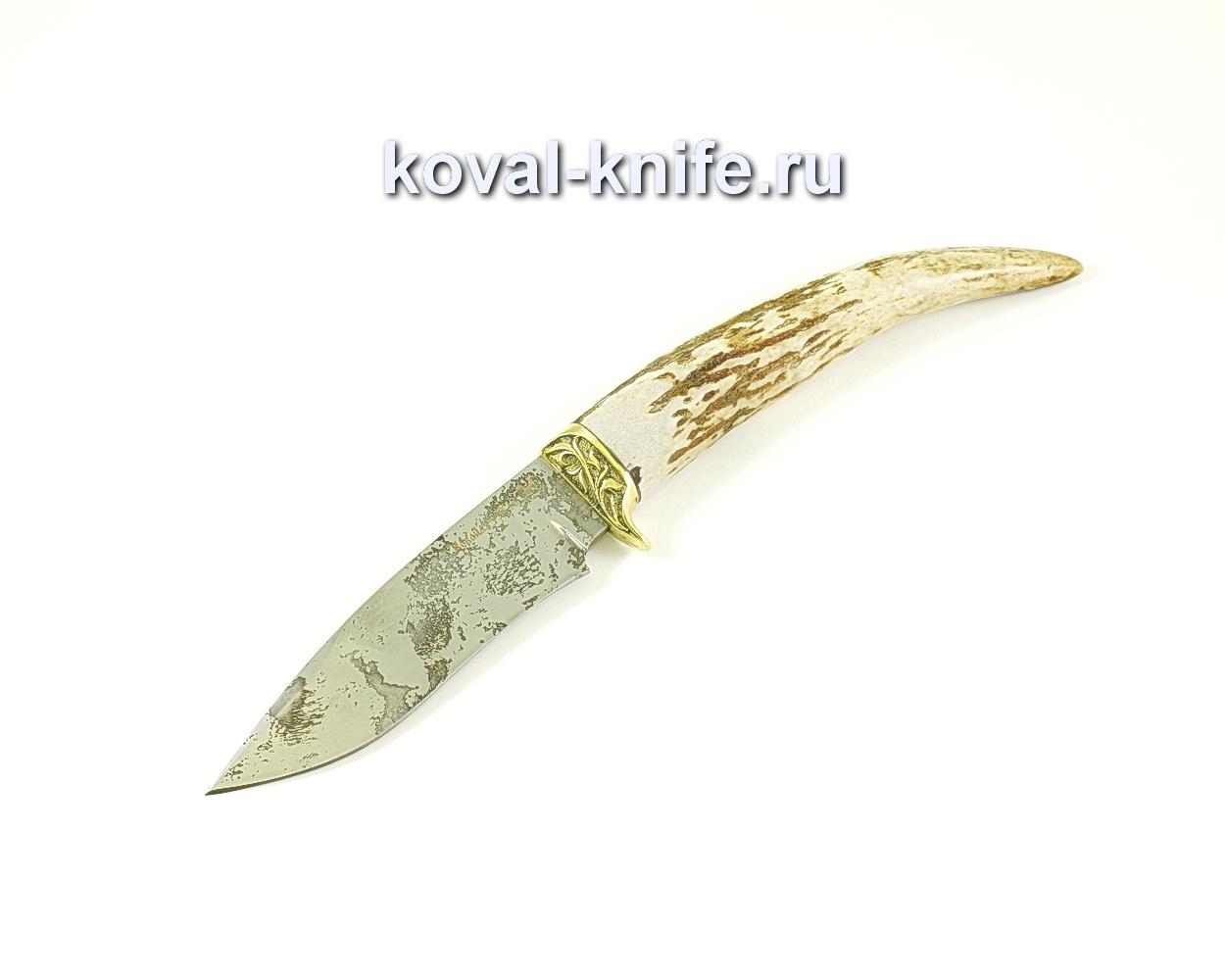 Нож Сапсан (сталь 95х18), рукоять рог, литье