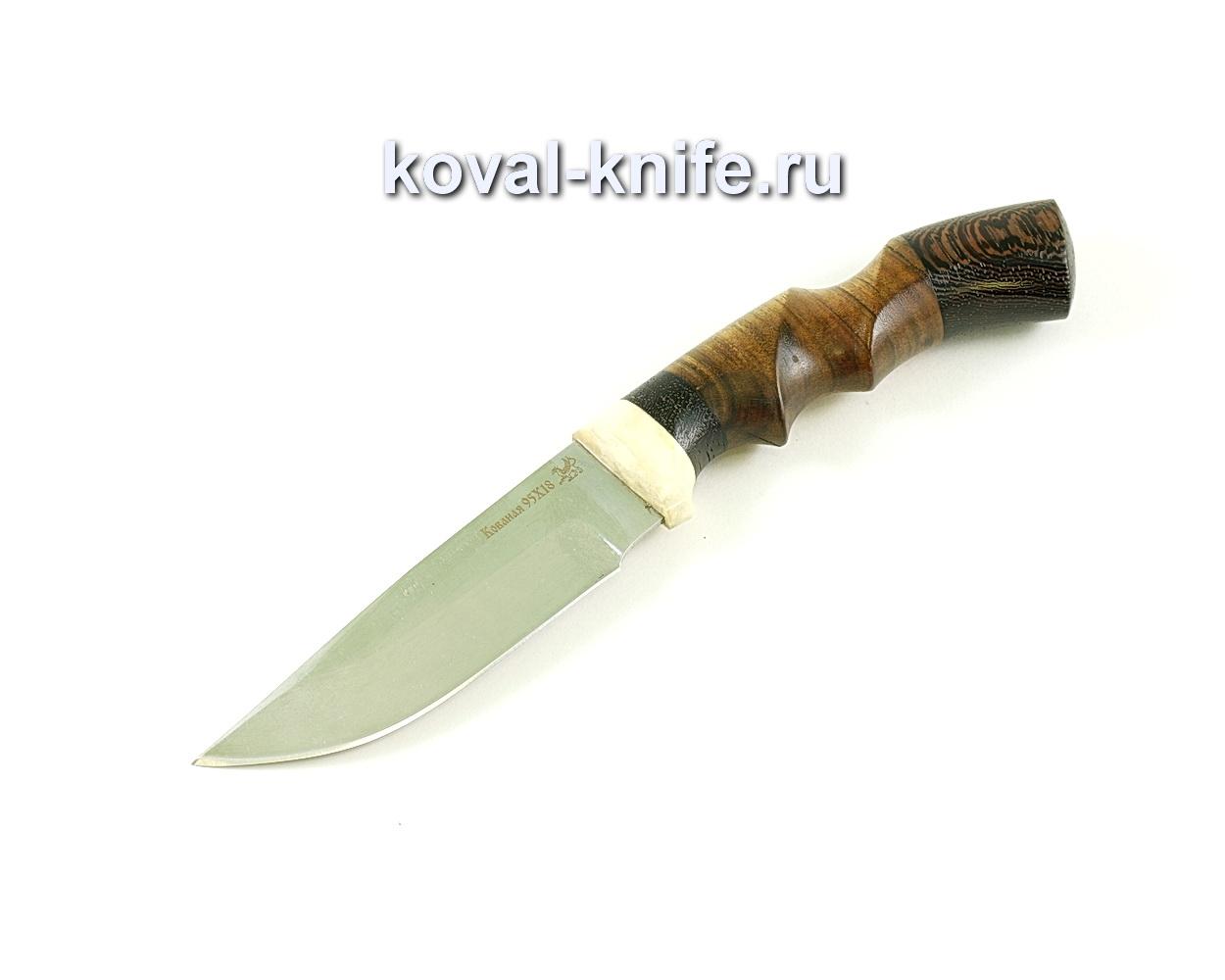 Нож Бигзод-мини (сталь 95х18), рукоять рог, венге, орех A265