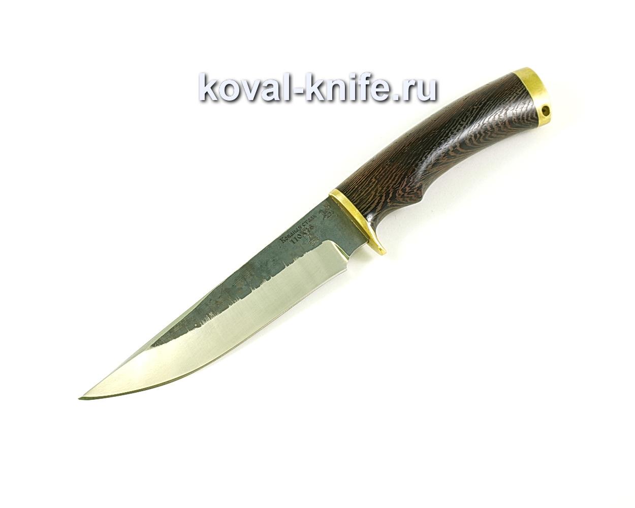 нож лис (сталь 110х18), рукоять венге, литье