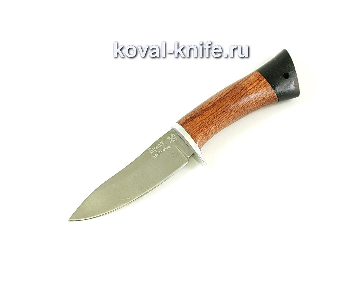 Нож Лань (сталь Булат), рукоять бубинга, граб A054