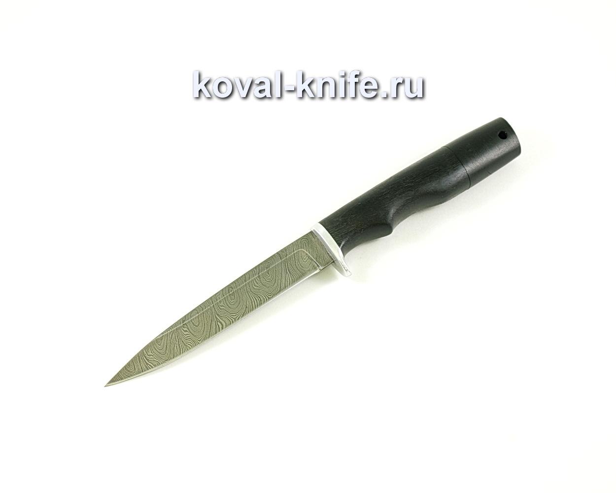 Нож Коготь (сталь дамасская), рукоять граб A069