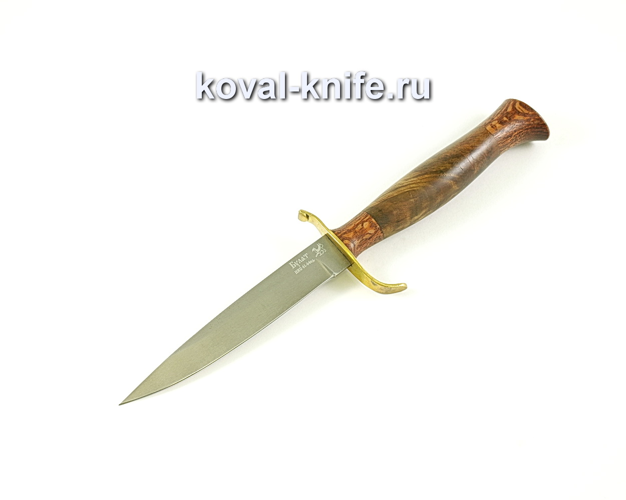 Нож Коготь (сталь Булат), рукоять орех, литье A056