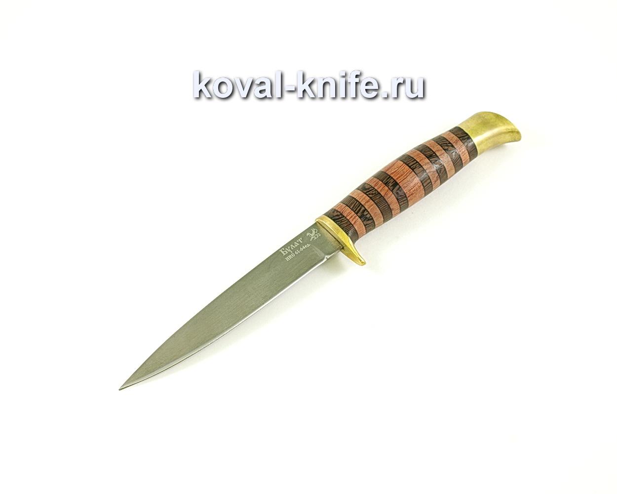 Нож Коготь (сталь Булат), рукоять венге, бубинга, литье A057
