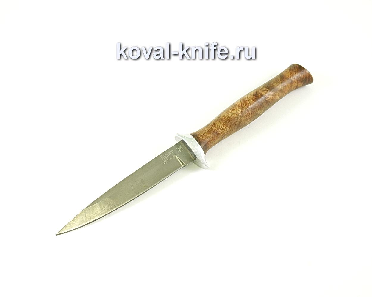 Нож Коготь (сталь Булат), рукоять орех A058