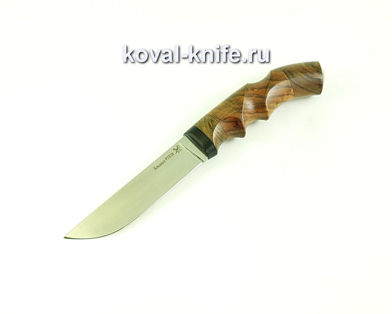 Нож Белка (сталь 95х18), рукоять орех A271