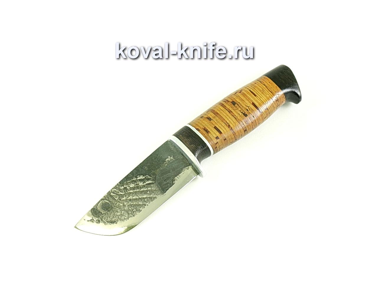 Нож Бобр (сталь 9хс), рукоять граб, береста A105