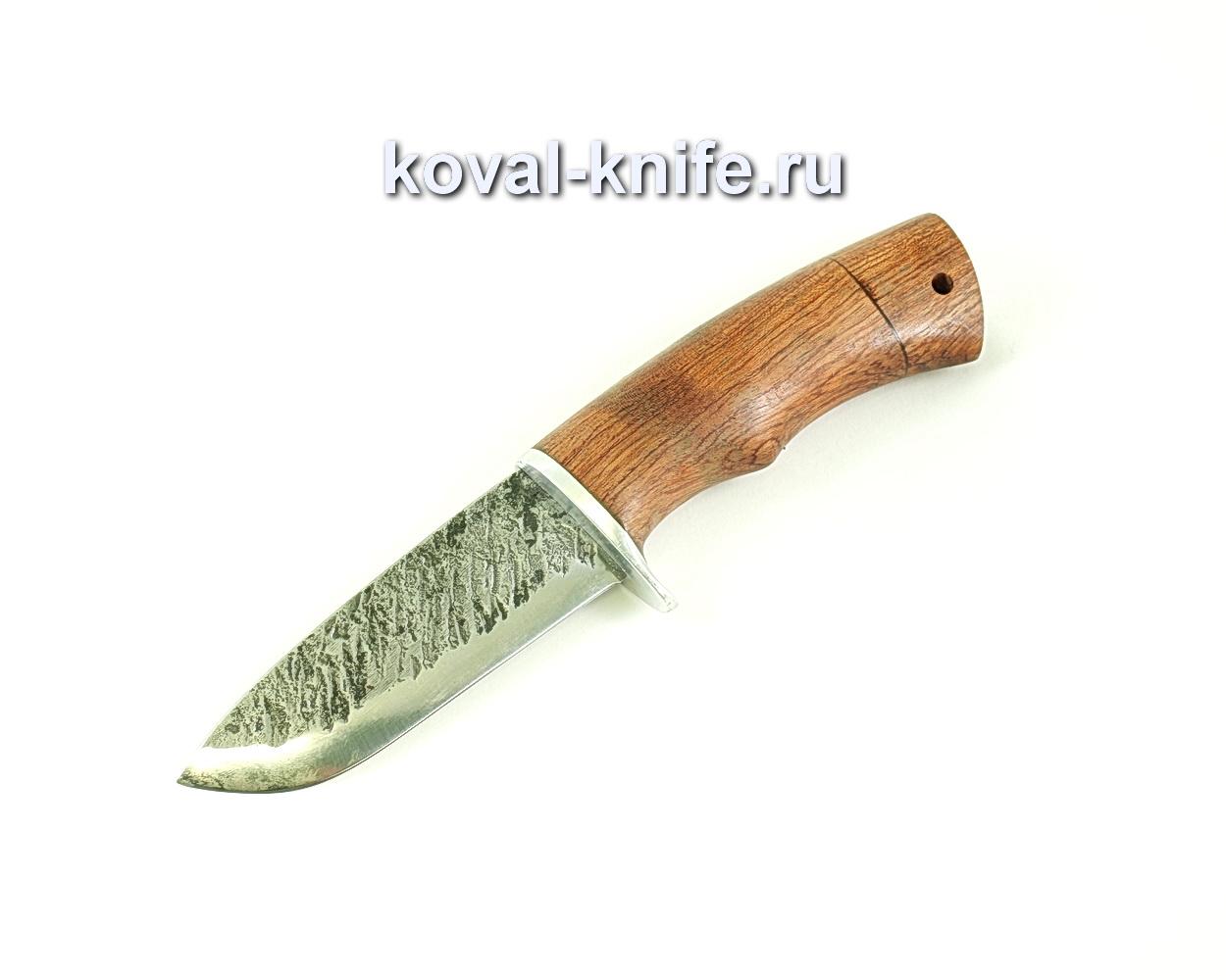 Нож Бобр (сталь 9хс), рукоять бубинга A107