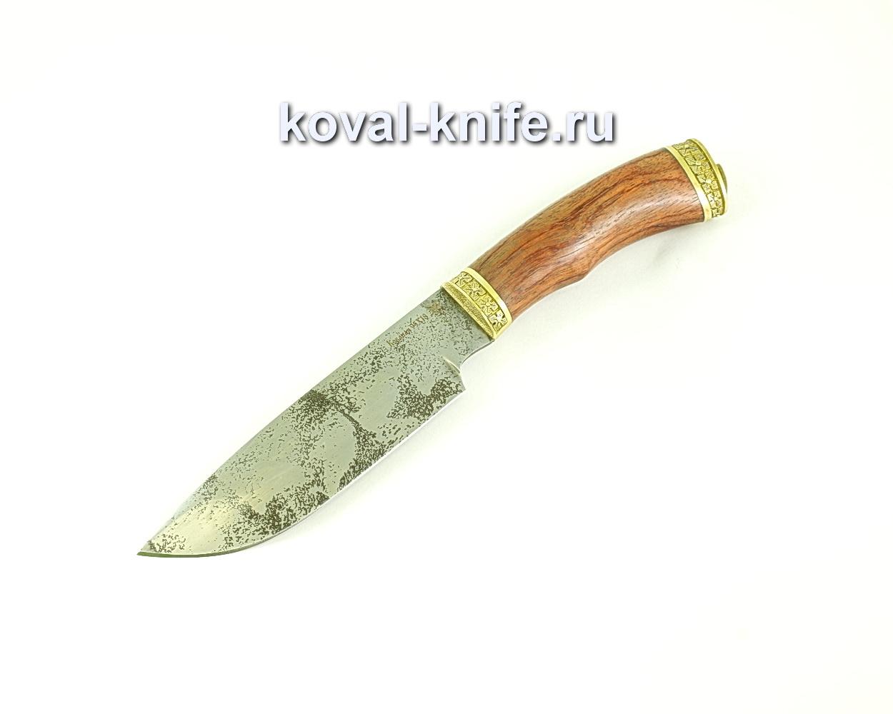 Нож Бигзод (сталь 95х18), рукоять бубинга, литье A277