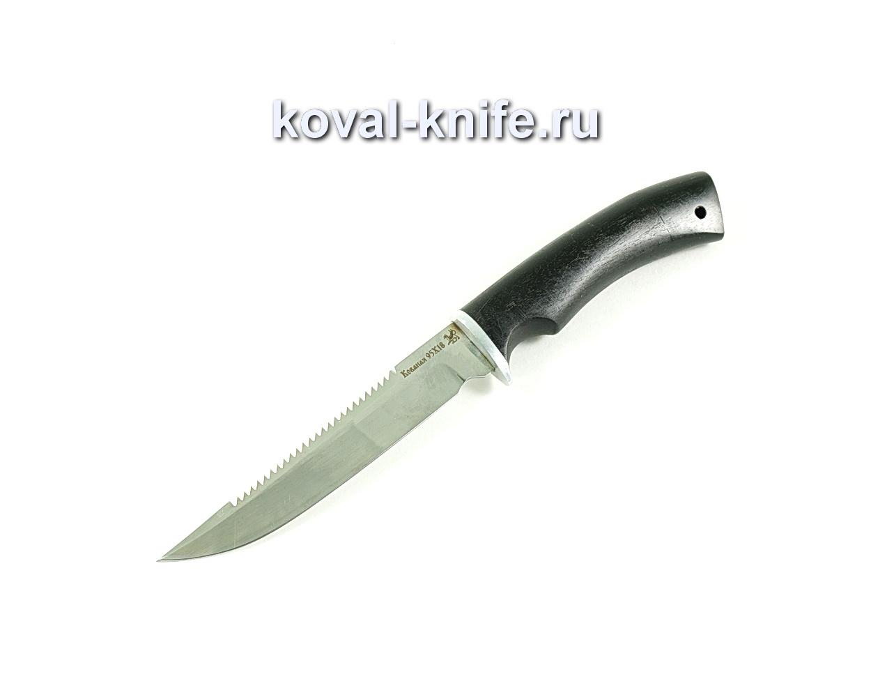 Нож Рыбак (сталь 95х18), рукоять граб A281