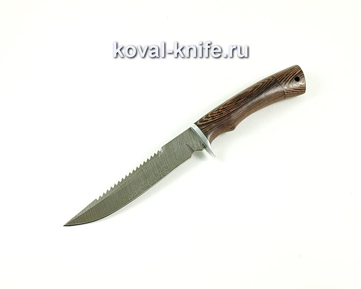 Нож Рыбак ( сталь дамасская), рукоять венге A141
