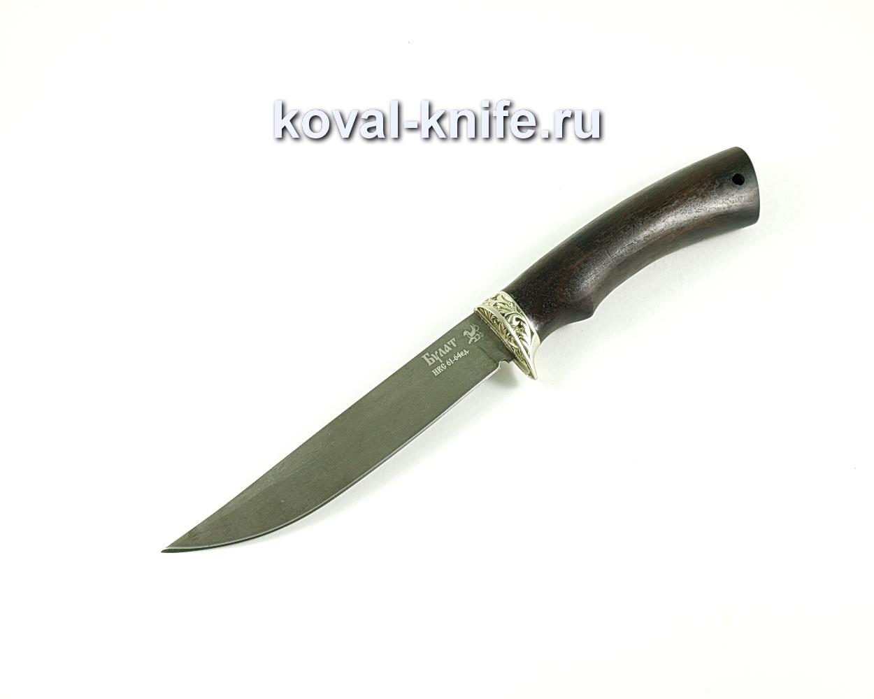 Нож Рыбак (сталь Булат), рукоять граб A147