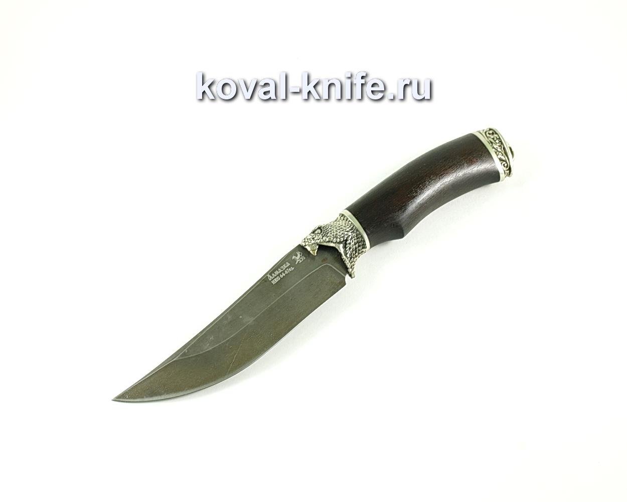 Нож Клыч (сталь ХВ5-Алмазка), рукоять граб, литье A128