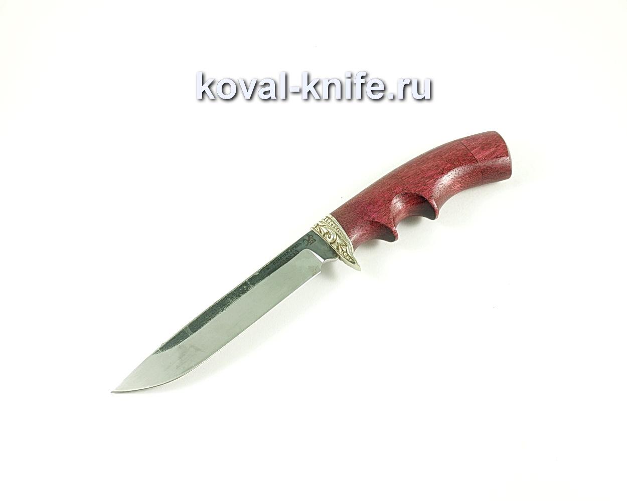 Нож Турист (сталь 110х18), рукоять амарант, литье A156