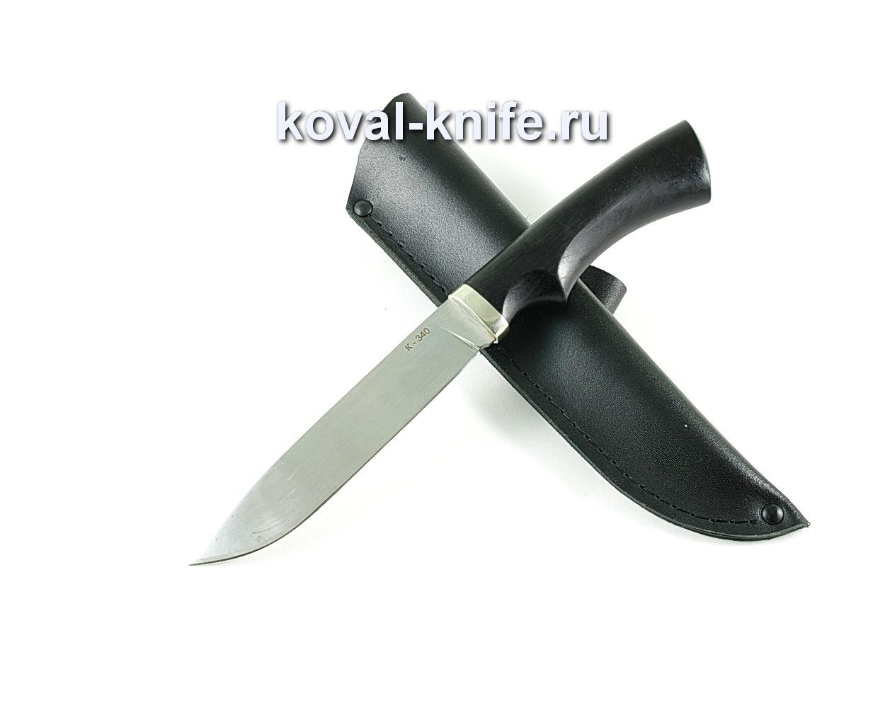 Нож Турист (сталь K-340), рукоять граб, литье A125