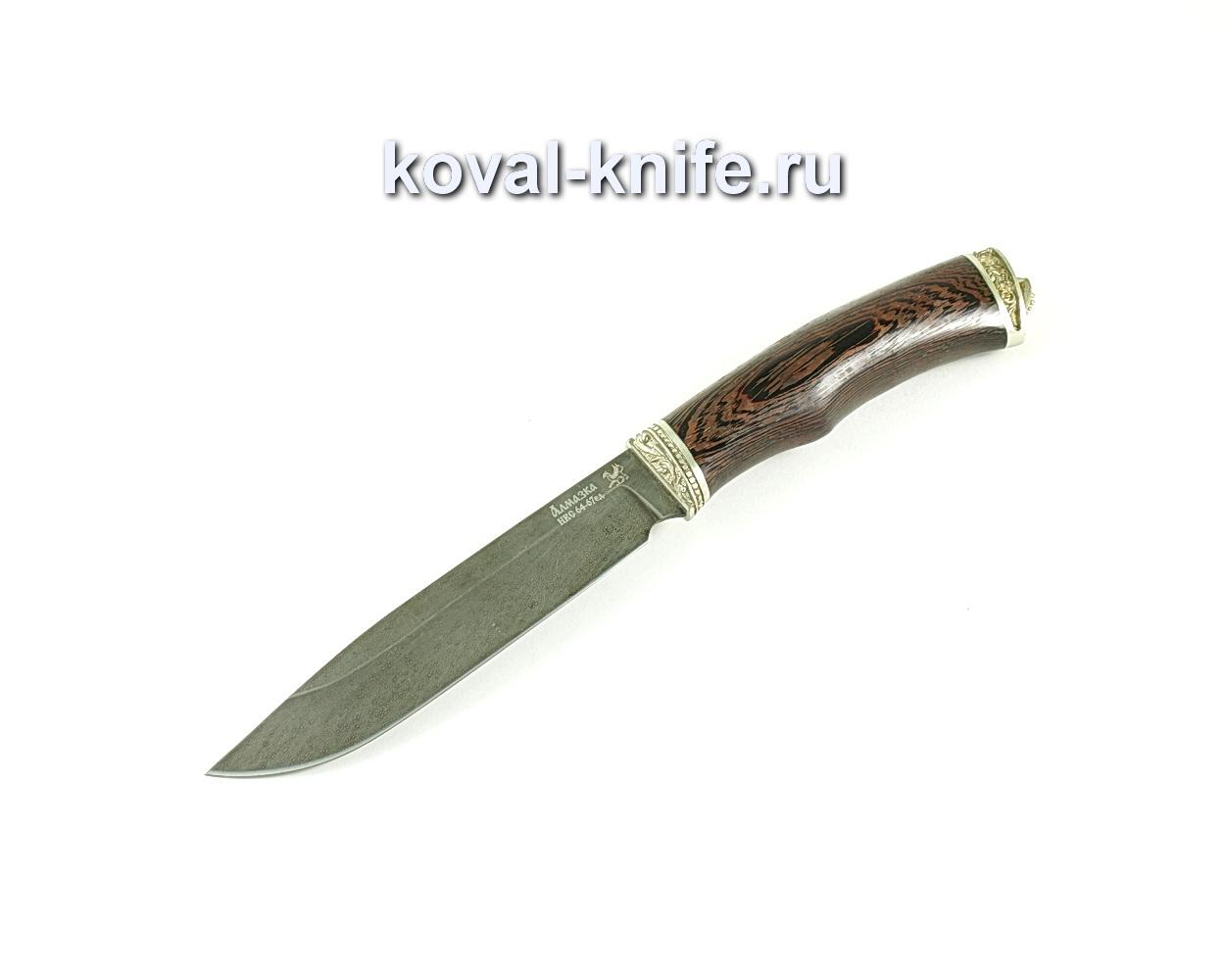 Нож Турист (сталь ХВ5-Алмазка), рукоять венге, литье A129