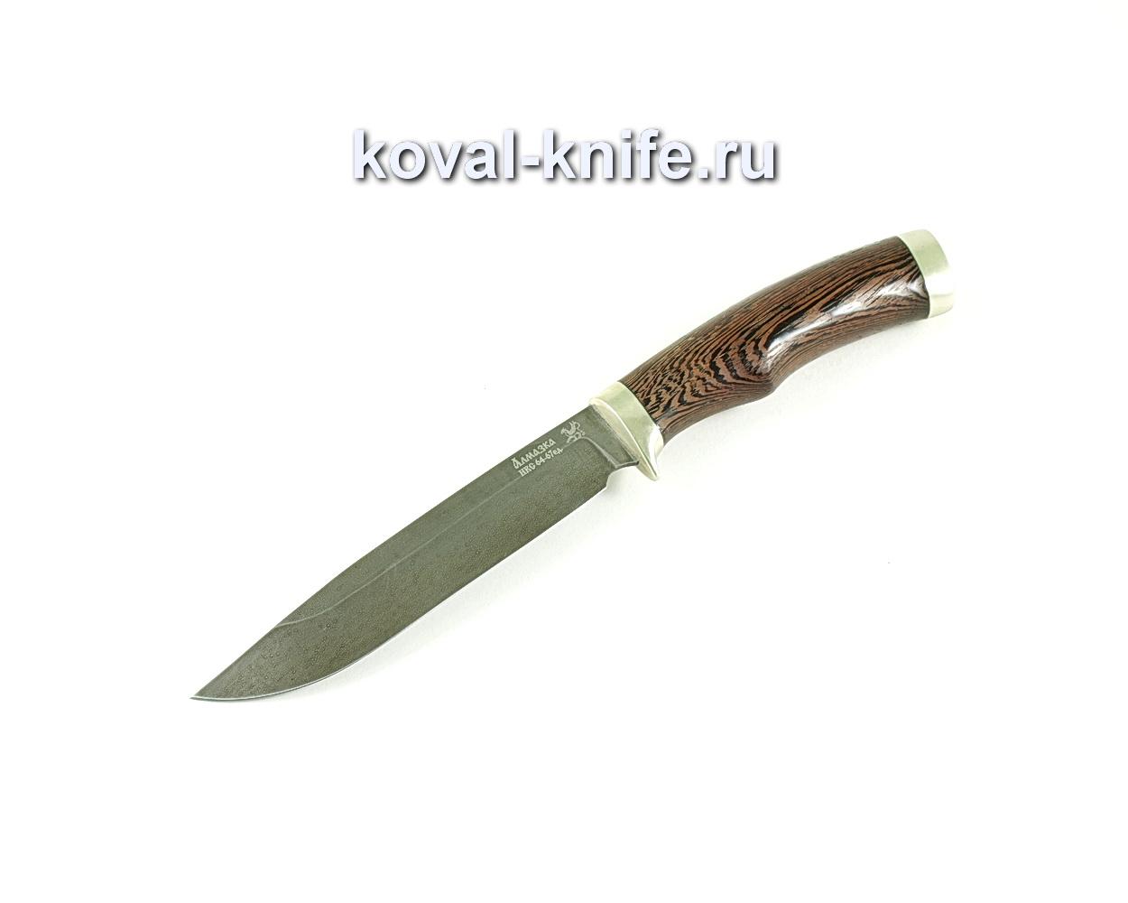 Нож Турист (сталь ХВ5-Алмазка), рукоять венге, литье A127