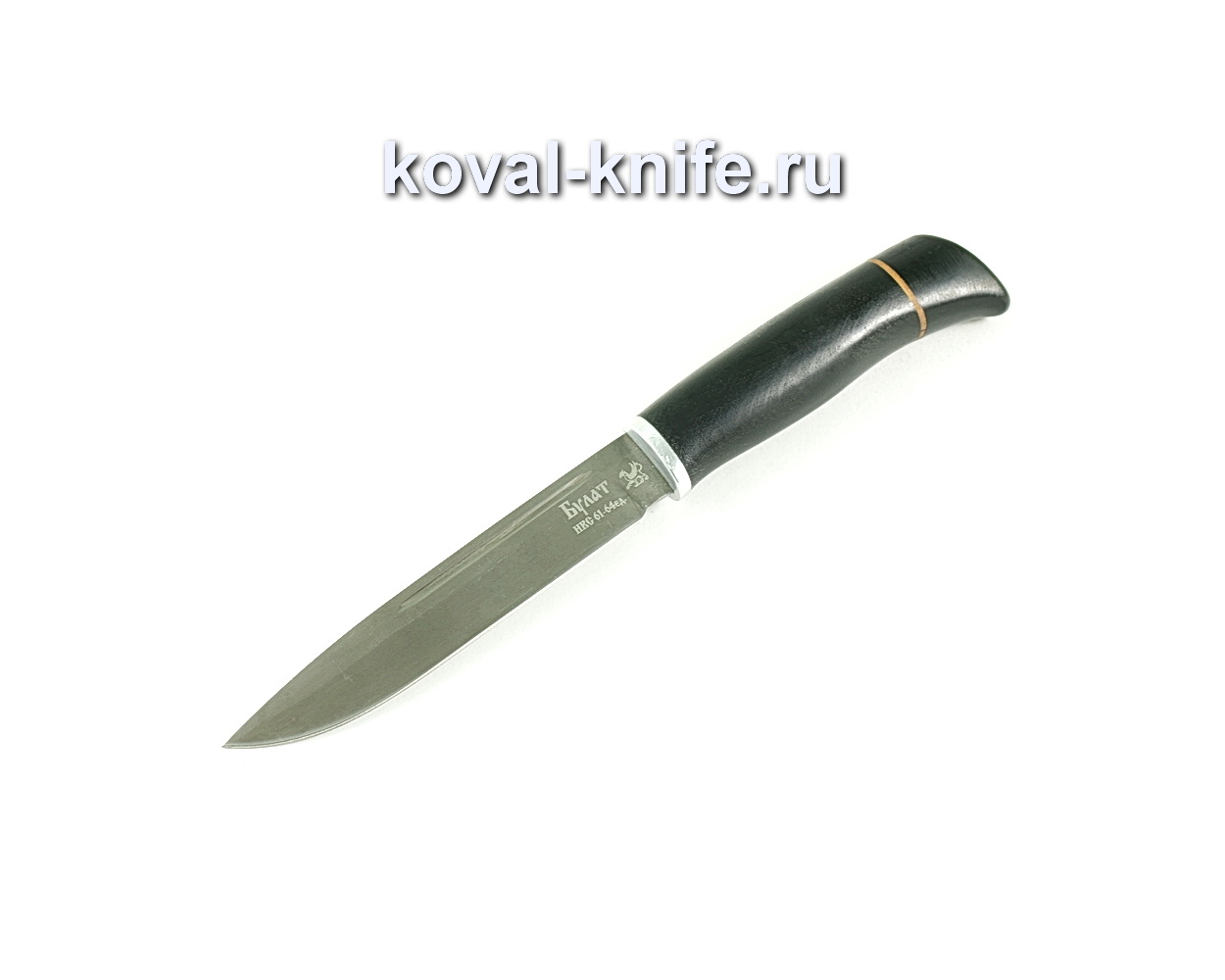 Нож Финка (сталь Булат), рукоять граб
