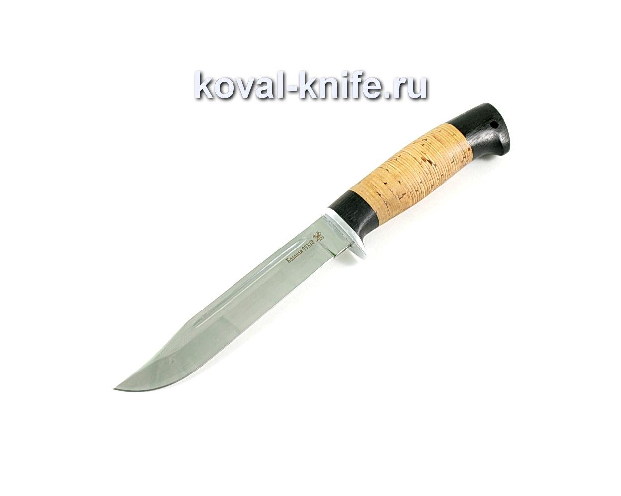 Нож Штрафбат (сталь 95х18), рукоять граб, береста A237