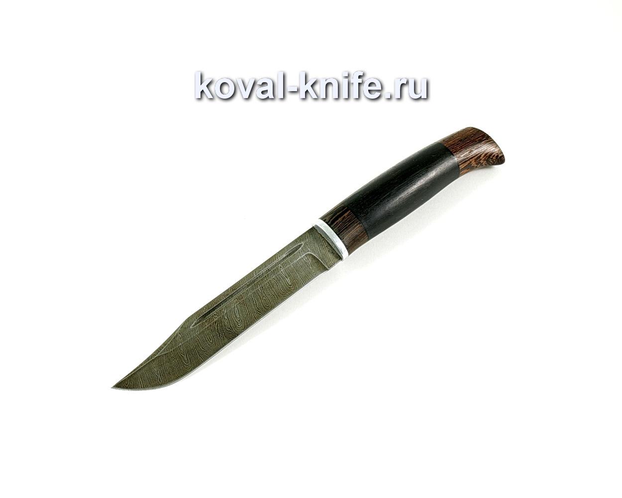 Нож Штрафбат (сталь Дамасская), рукоять венге, граб A230