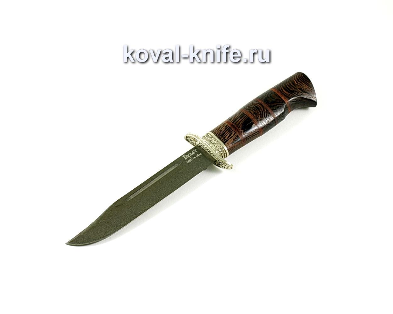 Нож Штрафбат (сталь Булат) рукоять венге, литье A194