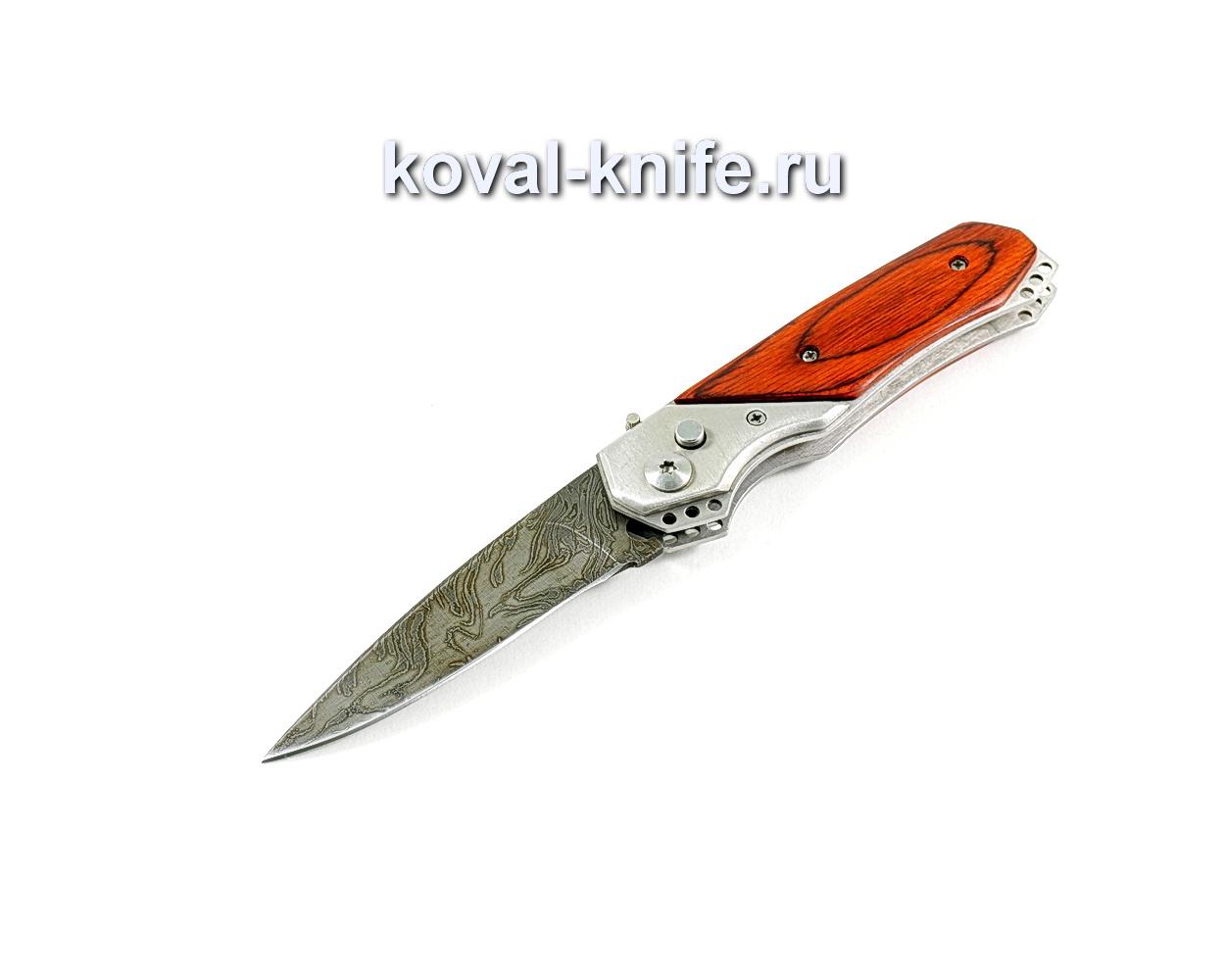 Нож Складной (сталь дамасская), рукоять пластик A254