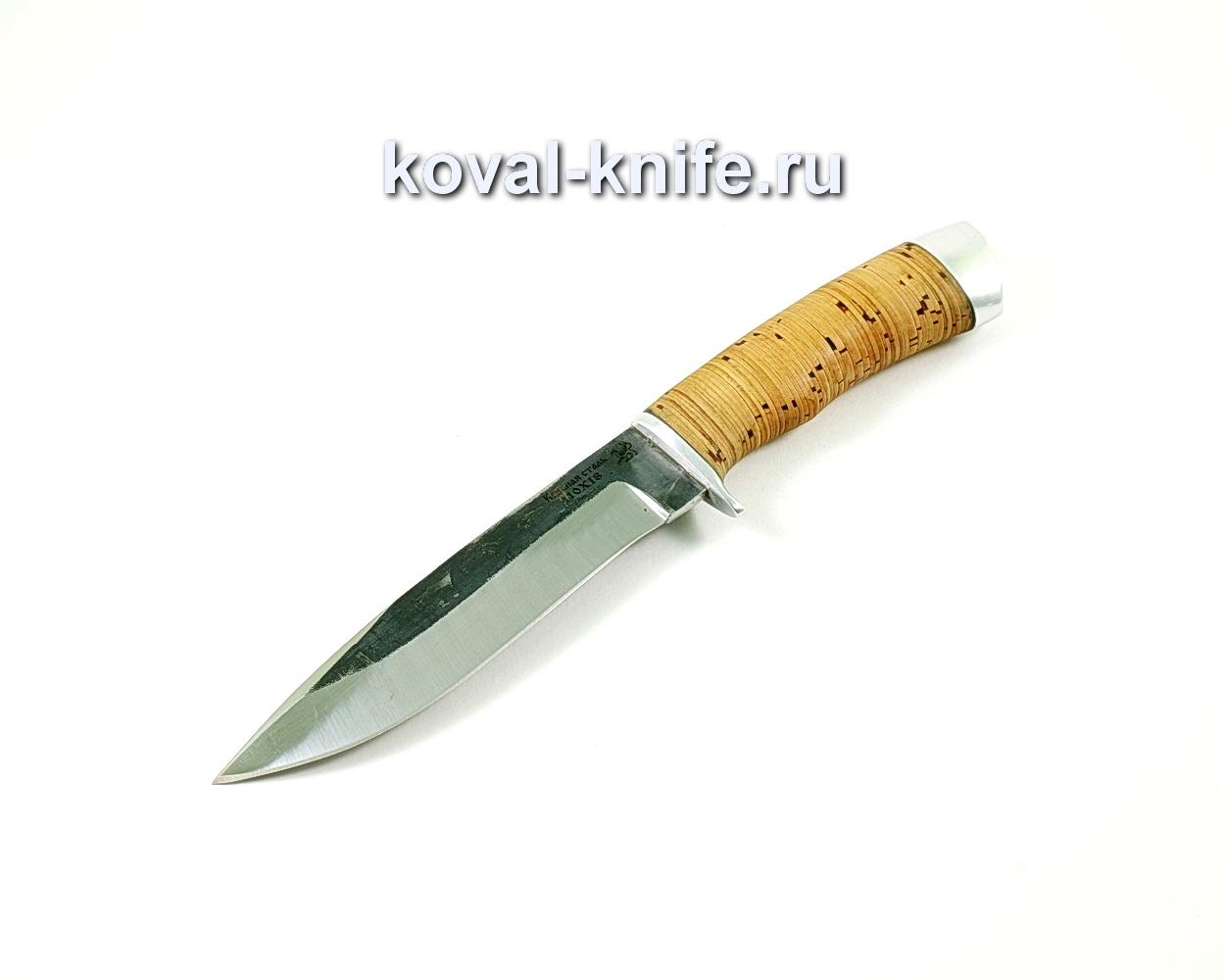 Нож олимп (сталь 110х18), рукоять Береста A219