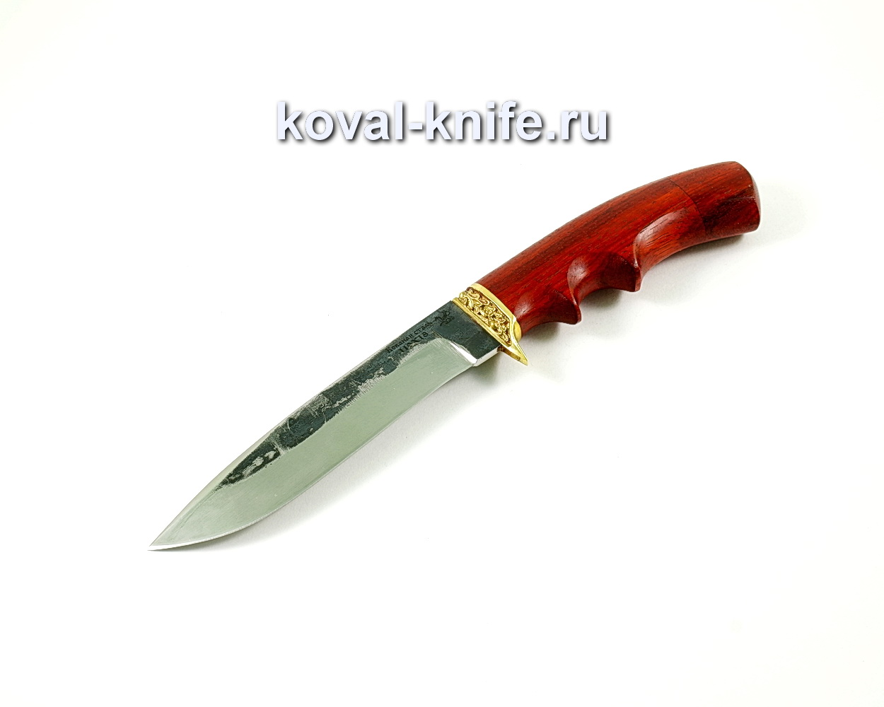 Нож олимп (сталь 110х18), рукоять падук, литье