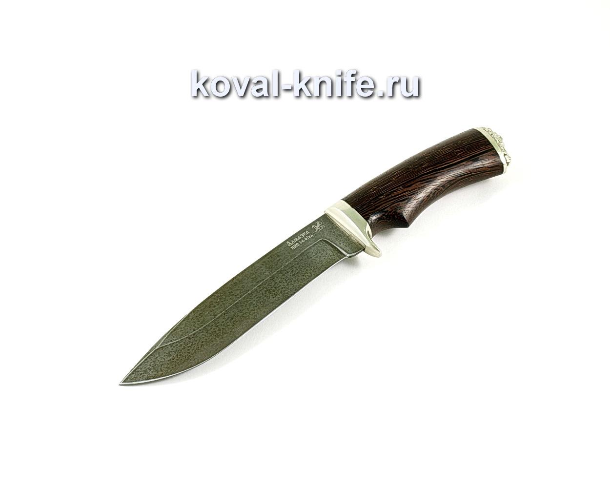 Нож Олимп (сталь ХВ5-алмазка), рукоять венге, литье A290