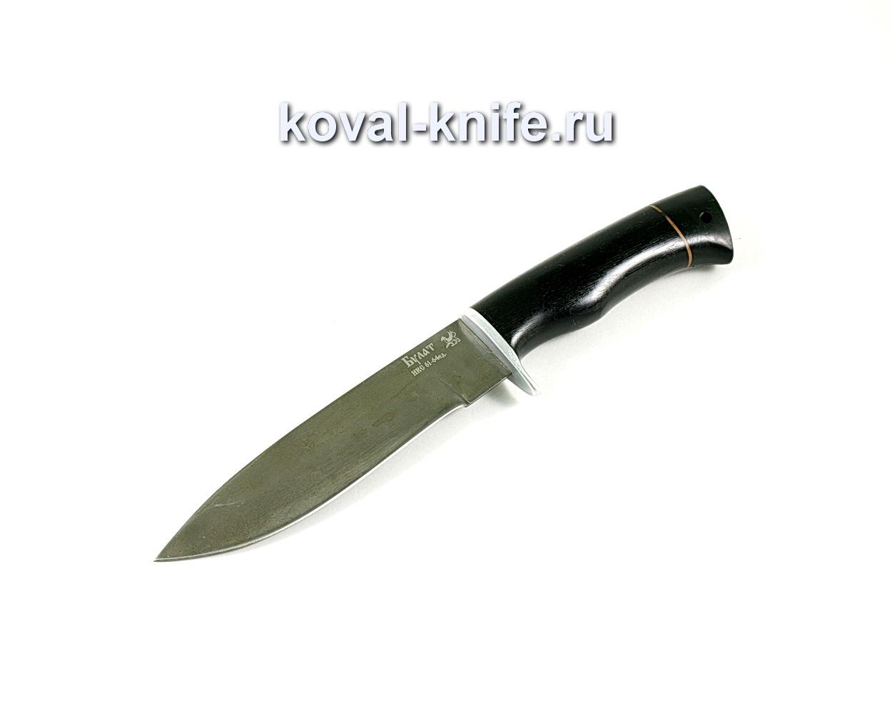 Нож Олимп (сталь Булат), рукоять граб A199