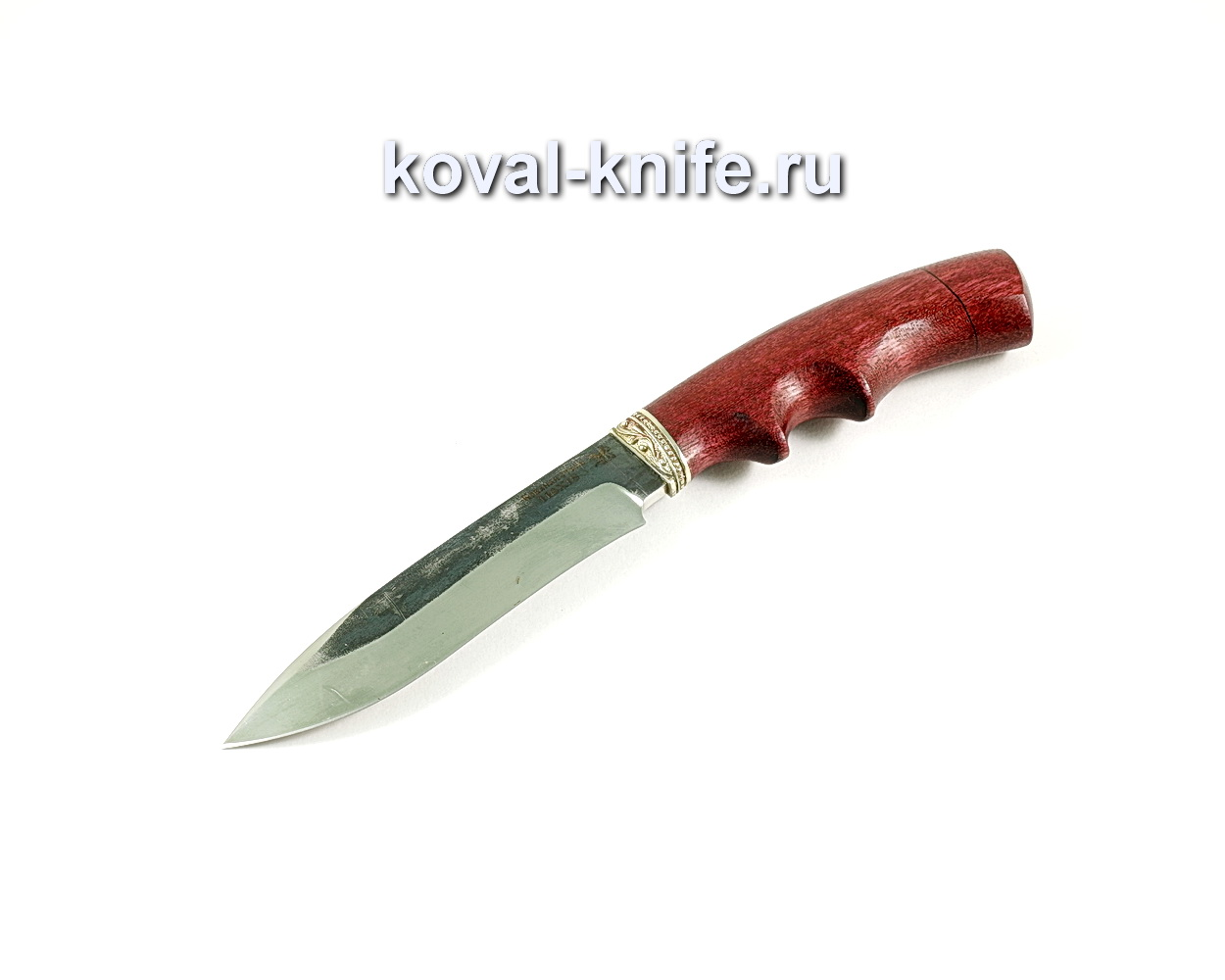 Нож Орлан (сталь 110х18), рукоять амарант, литье