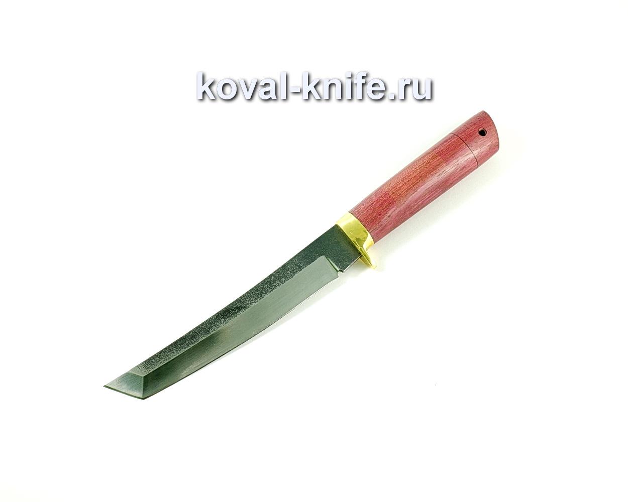 Нож Танто (сталь 110х18), рукоять амарант, литье A227