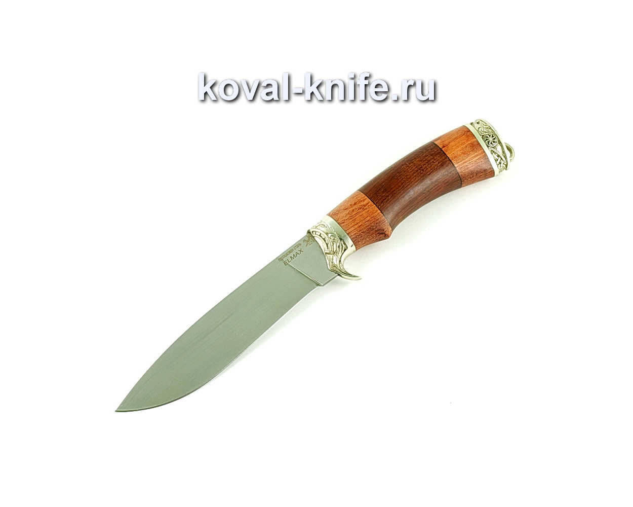 Нож Олимп (сталь Elmax), рукоять бубинга, орех A340