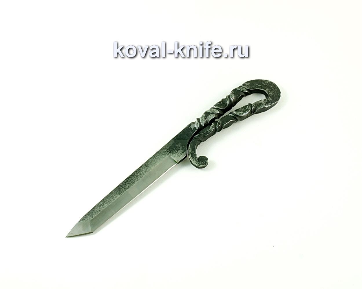 Нож Кобун (сталь 9хс), рукоять сталь 9хс A160