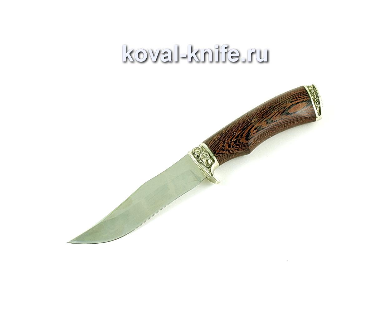Нож Пират (сталь 65х130, рукоять венге, литье A166