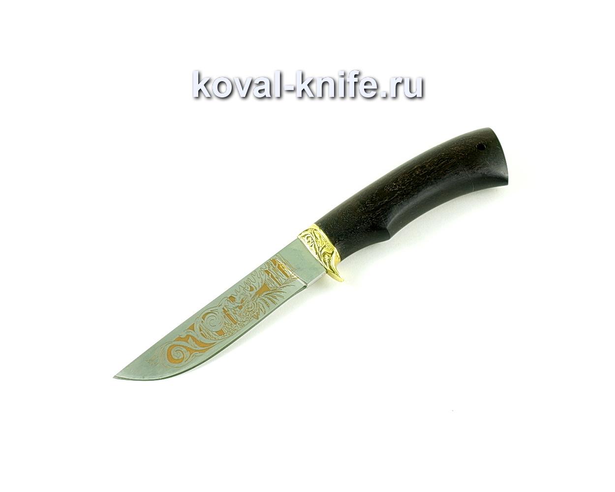 Нож Белка (сталь 65х13), рукоять граб, латунь A244