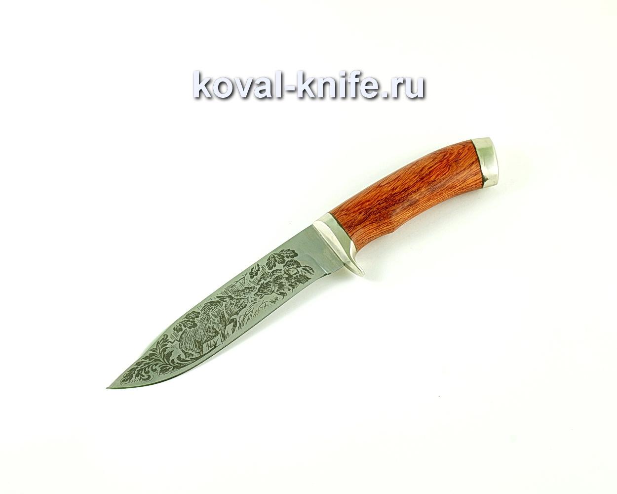 Нож Олимп (сталь 65х13), рукоять падук, литье A171
