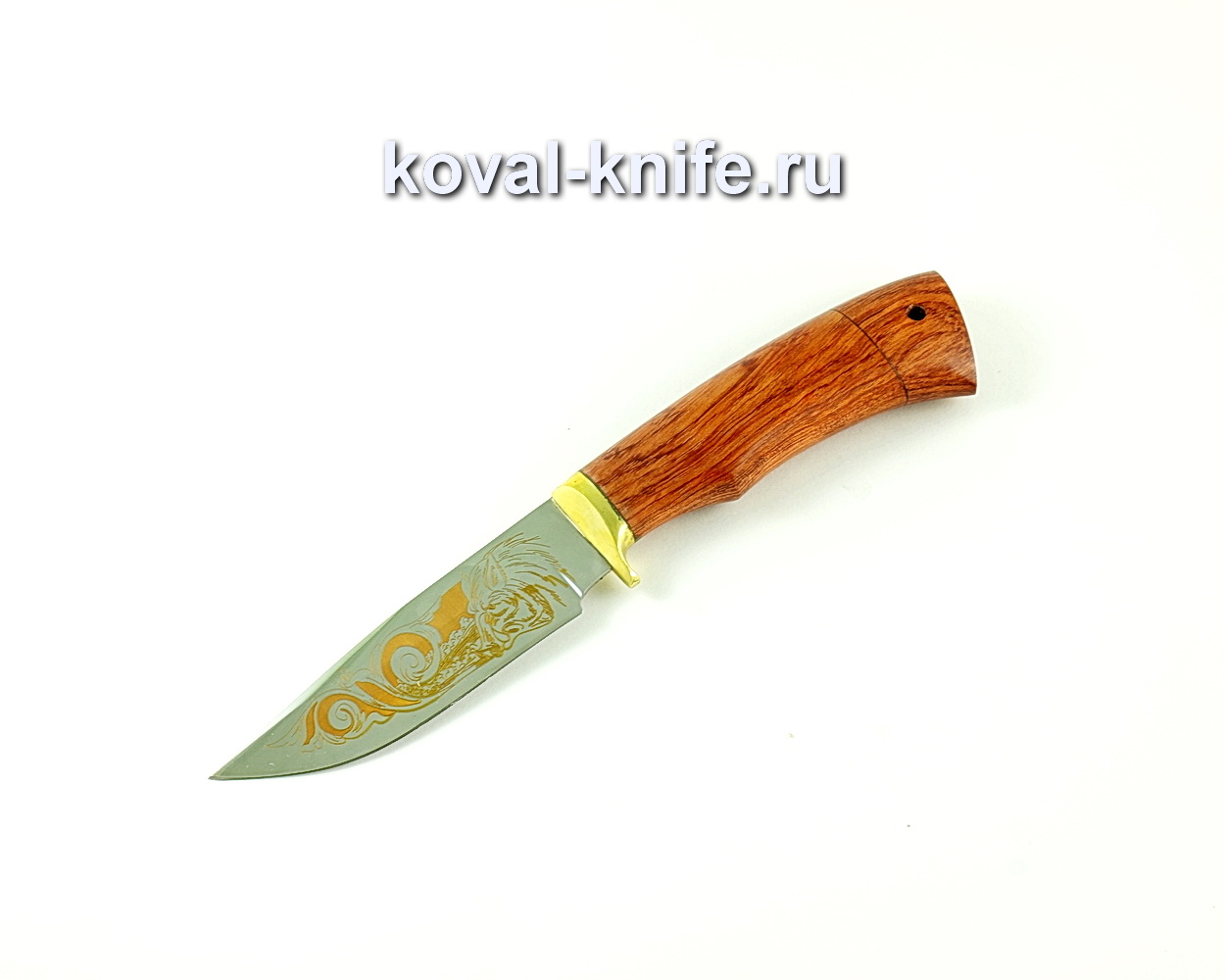 Нож Норвег (сталь 65х13), рукоять бубинга, литье A245