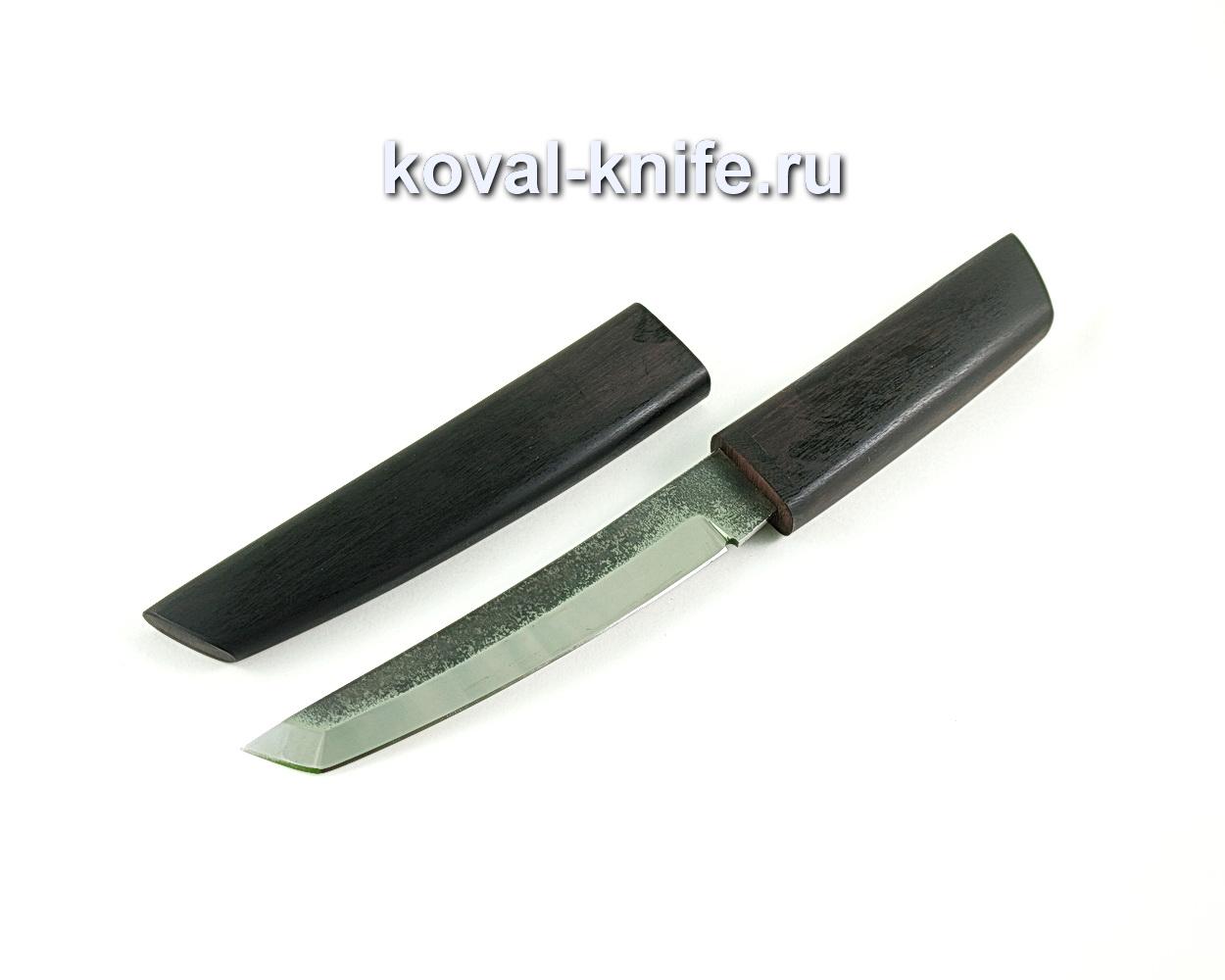 Нож Танто (сталь 110х18), рукоять и ножны граб A293