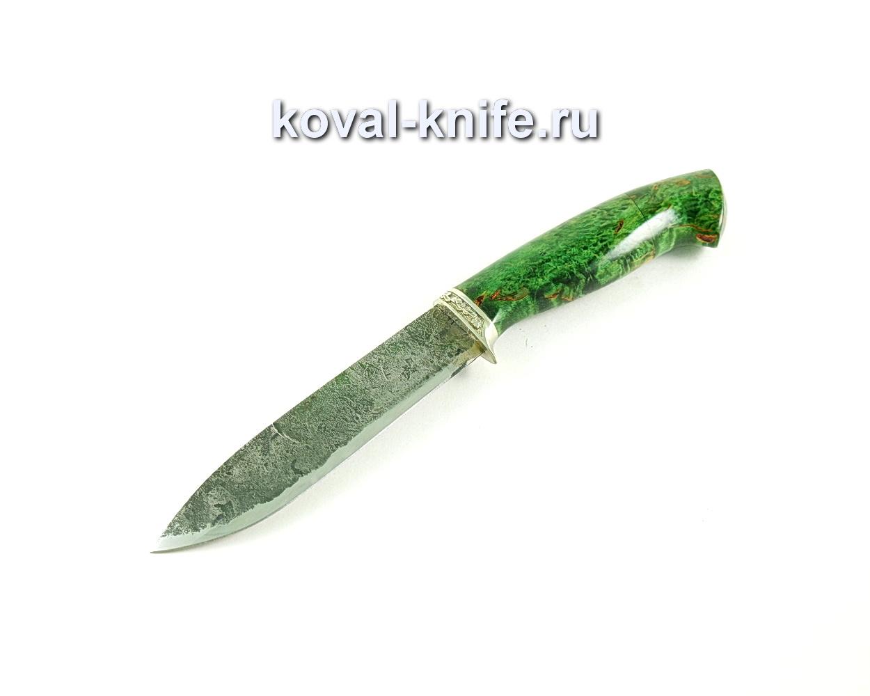 Нож Олимп (сталь 9хс), рукоять карельская береза-стабилизированная A294