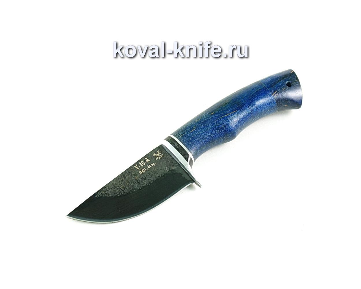 Нож Скин (сталь У10), рукоять карельская береза-стабилизированная A299