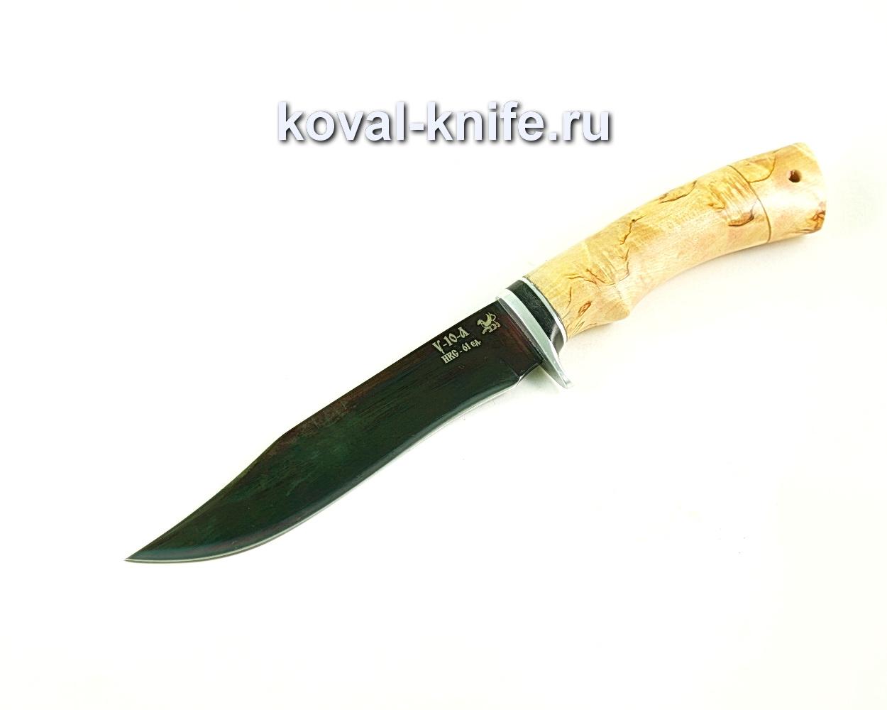 Нож Викинг (сталь У10), рукоять карельская береза A304