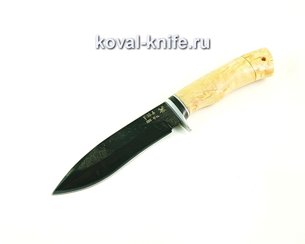 Нож Орлан (сталь У10), рукоять карельская береза A307