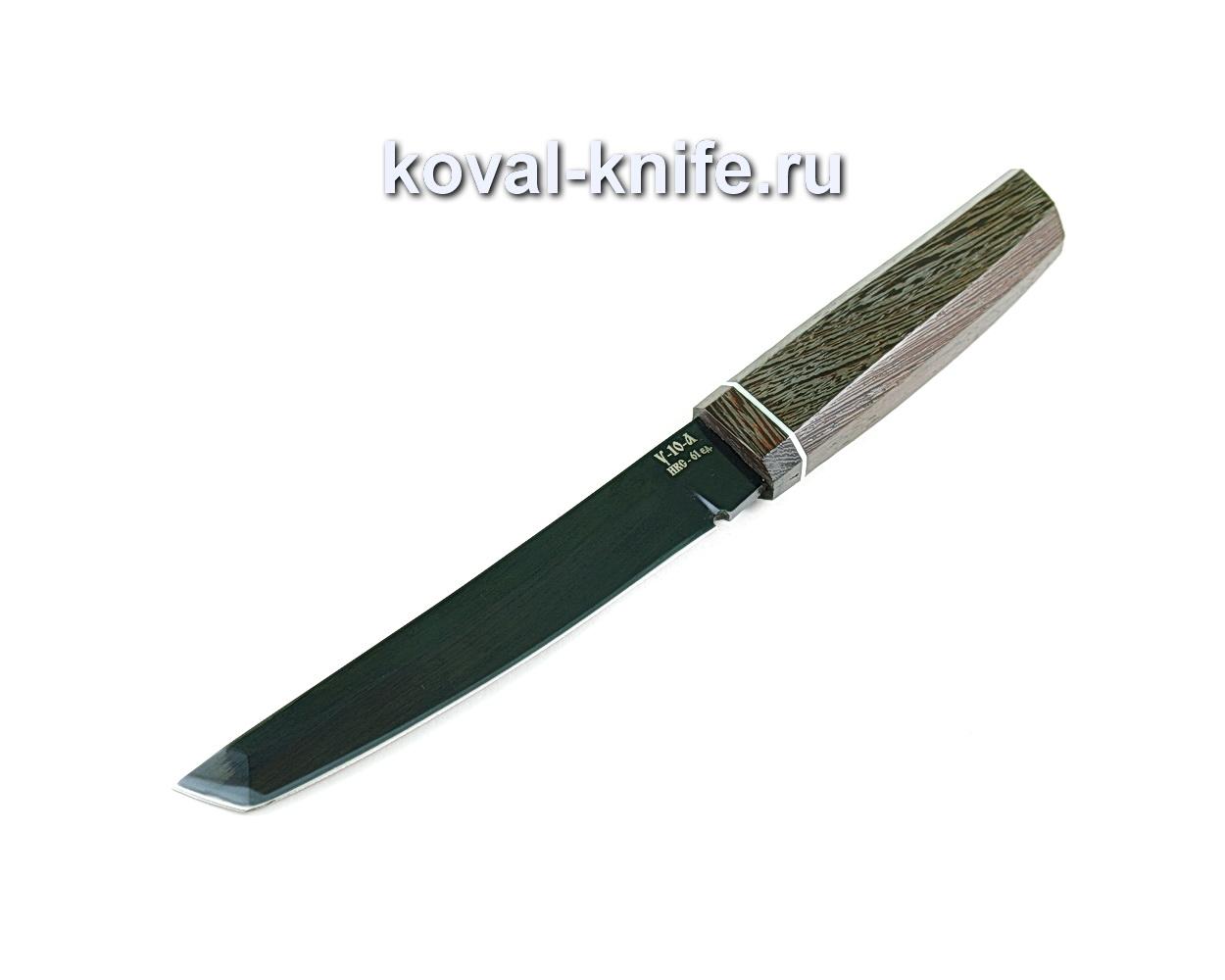 Нож Танто (сталь У10), рукоять венге A309