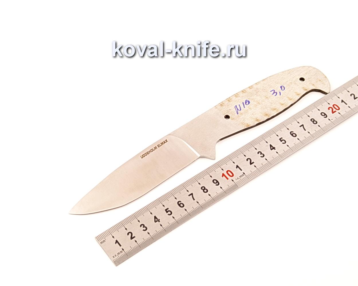 Клинок для ножа из порошковой стали Elmax N10