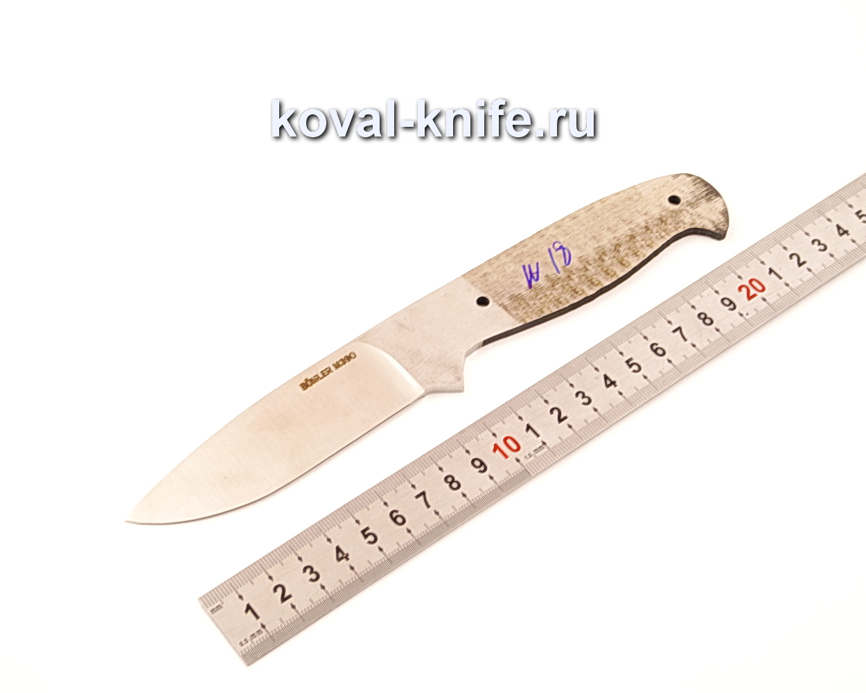 Клинок для ножа из порошковой стали Bohler M390 N18